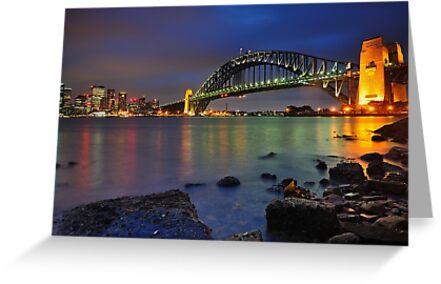 Sydney Harbour Bridge by Anton Gorlin