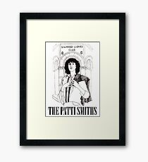 The Patti Smiths Framed Print