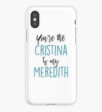 hot sale online a4649 7338e Cristina Yang iPhone X Cases & Covers | Redbubble