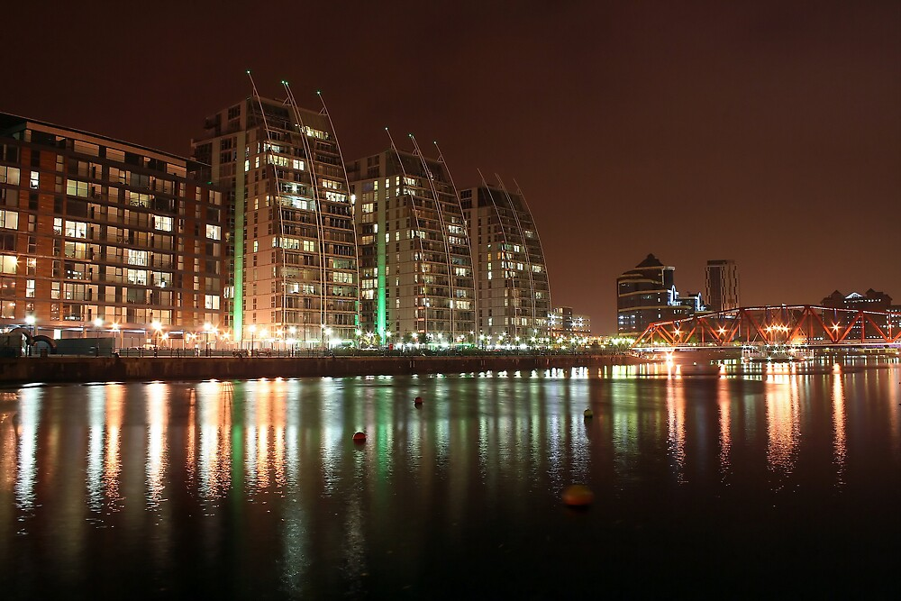 salford quays by DigitalRebel