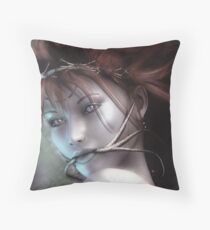 Scold's Bridle Throw Pillow