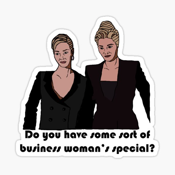 Romi & Michele Business Woman's Special Sticker