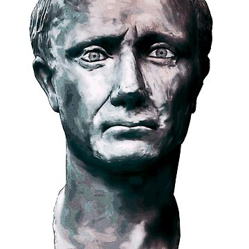 Julius Caesar Portrait Illustration by JimPlaxco