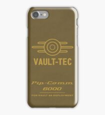 The Pip-Comm 6000 iPhone Case/Skin