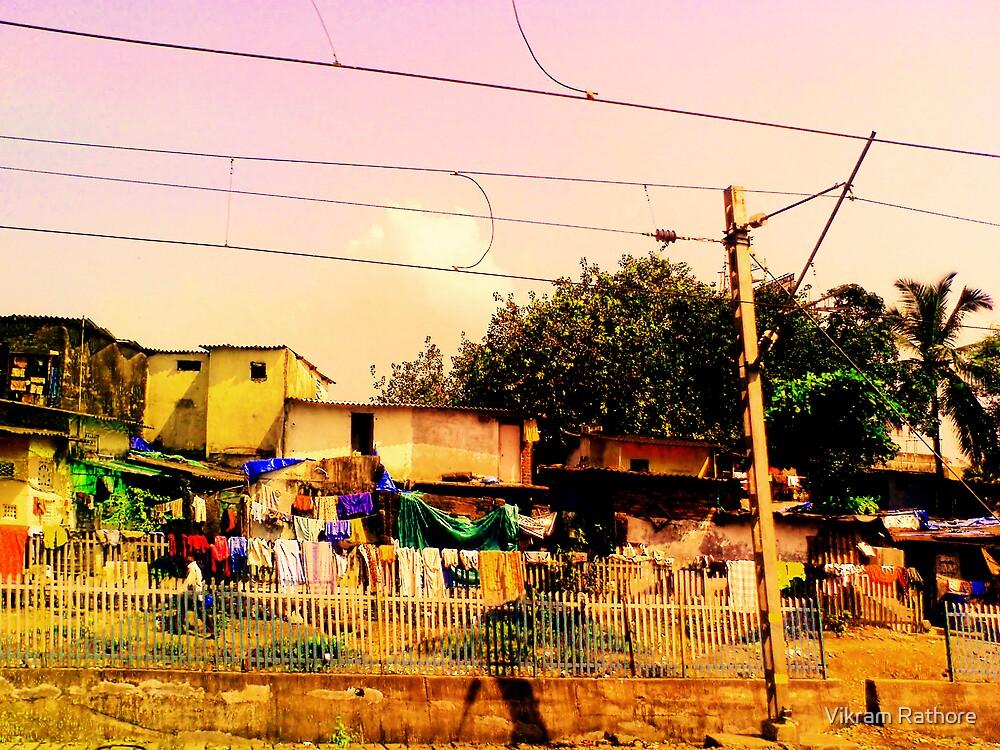 Housing Chawl near railway track!! by VR Designs