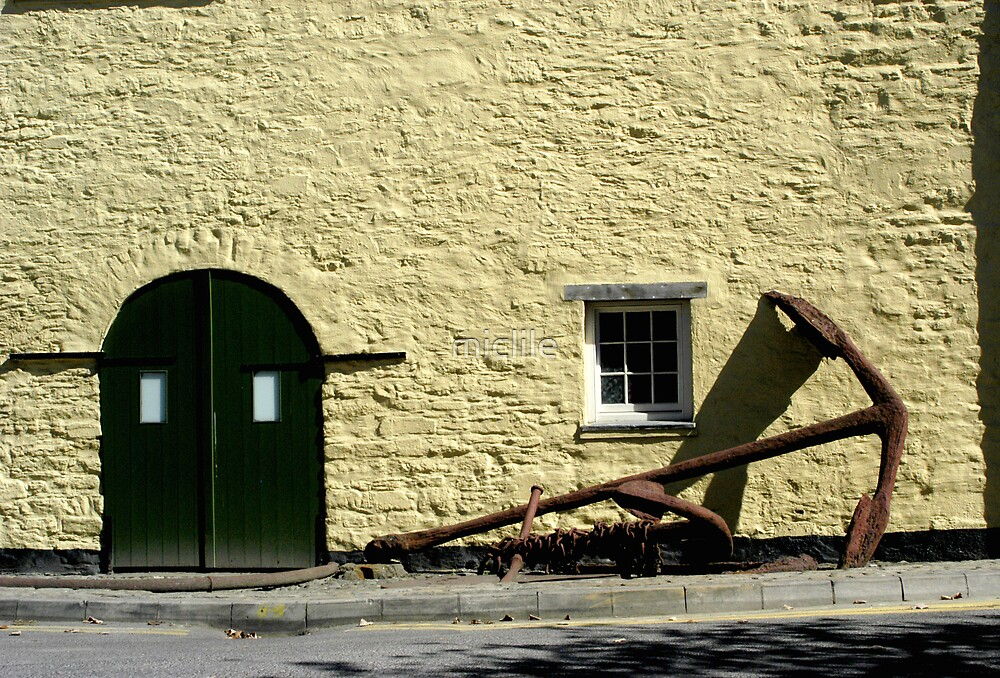 Anchor in Kinsale by miclile
