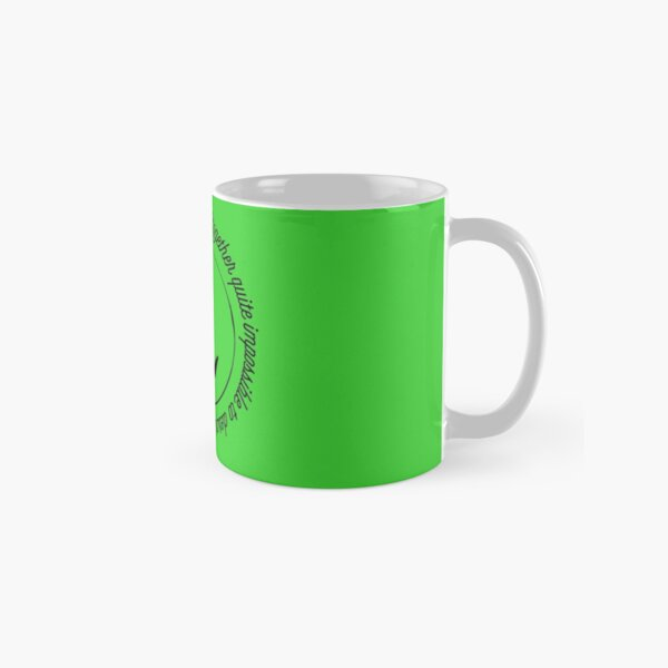 Wicked The Musical Elphaba Classic Mug