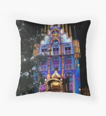 Christmas in Gouda Throw Pillow