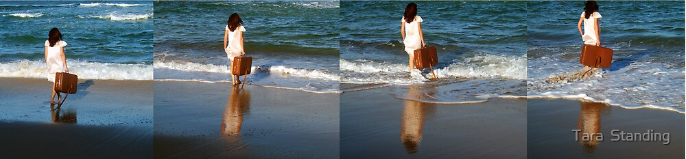 """""""What the Sea Wants the Sea Shall Have"""" 2007 digital media by Tara  Standing"""