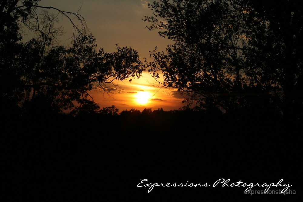 pretty little southern sunset by expressionsbysha