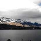 The Remarkables and Lake  Wakatipu by lizdomett