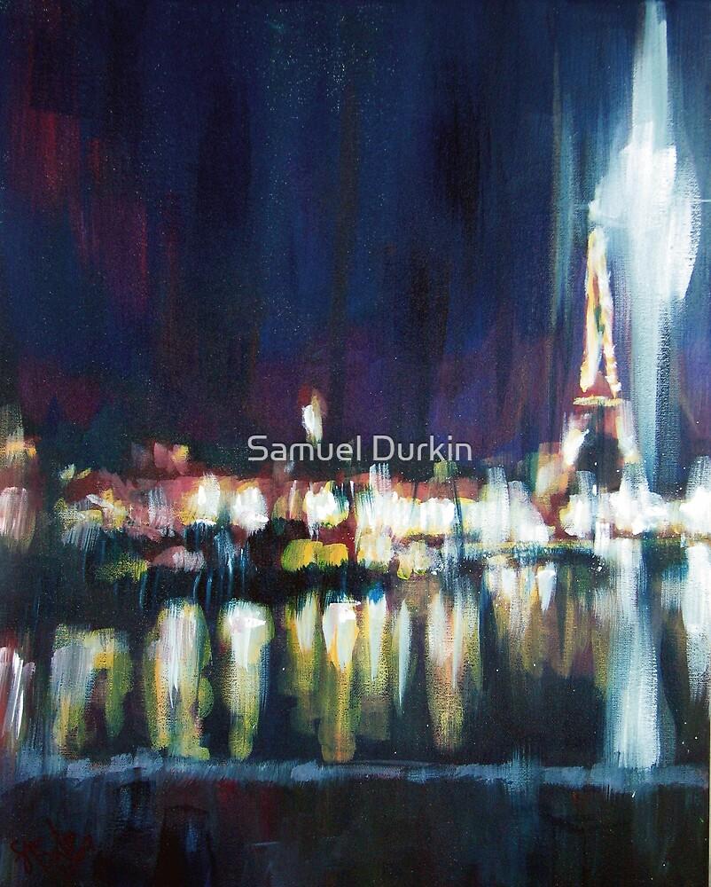 Paris at night part one by Samuel Durkin