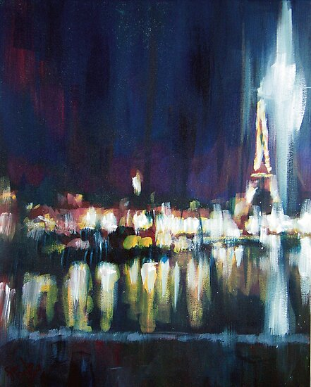 Paris at night part one by Samuel Durkin