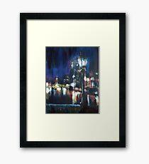Paris at night part two Framed Print