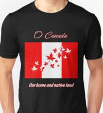 O Canada Unisex T-Shirt