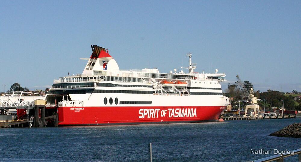 Spirit Of Tasmania II by Nathan Dooley