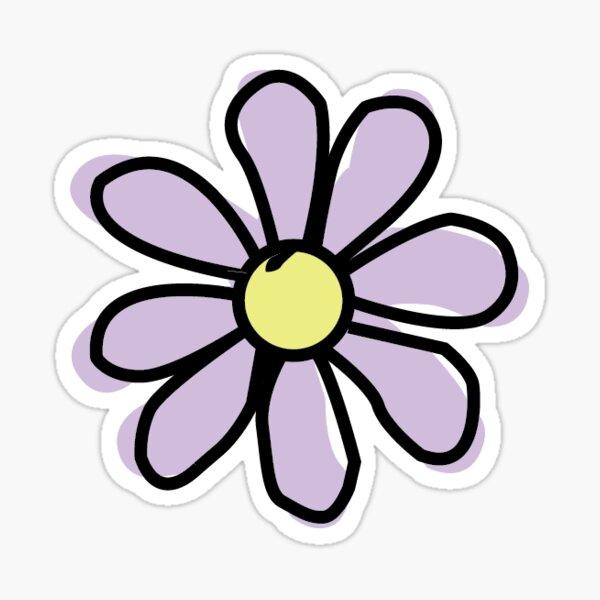 Lavender Flower Sticker