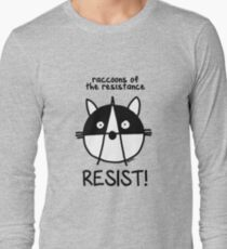 Join the raccoons of the resistance! Resist! T-Shirt