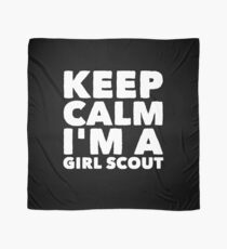 Keep Calm I'm a girl scout Scarf