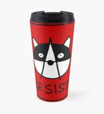Resist! With the Raccoons of the Resistance Travel Mug