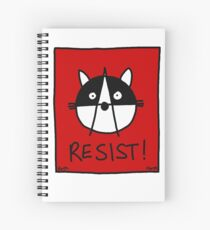 Resist! With the Raccoons of the Resistance Spiral Notebook