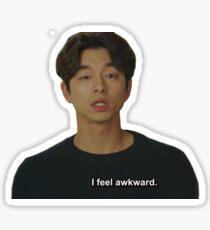 Awkward Kim Shin Sticker