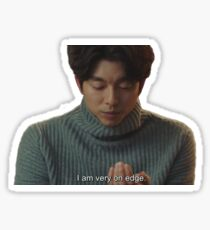 On Edge Kim Shin Sticker