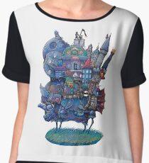 Fandom Moving Castle Chiffon Top