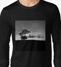 Do you remember bluer skies,happy days and simpler times? Seems not that long ago, But so far away, will it ever be the same again?  I Don't Think So! Long Sleeve T-Shirt