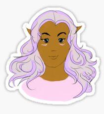 Princess Allura Voltron Legendary Defender Sticker