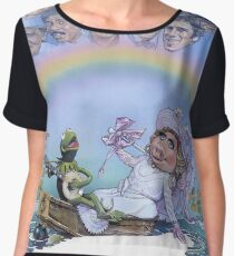 The Muppet Movie Women's Chiffon Top