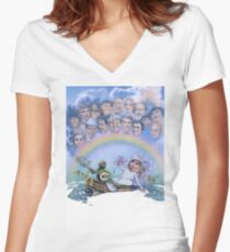 The Muppet Movie Women's Fitted V-Neck T-Shirt