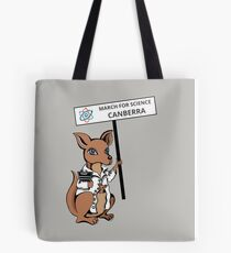 March for Science Canberra – Kangaroo, full color Tote Bag