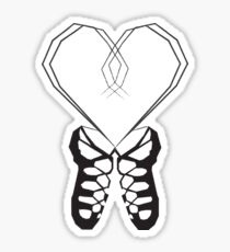 Irish Dance Ghillies Sticker