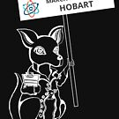 March for Science Hobart – Kangaroo, white by sciencemarchau