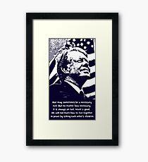 JIMMY CARTER-2 Framed Print