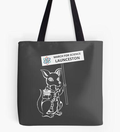 March for Science Launceston – Kangaroo, white Tote Bag