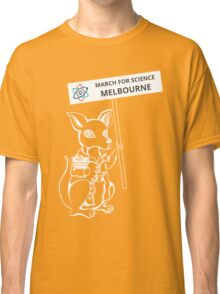 March for Science Melbourne – Kangaroo, white Classic T-Shirt