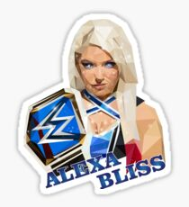 Alexa Bliss low poly Sticker