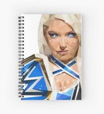 Alexa Bliss low poly Spiral Notebook