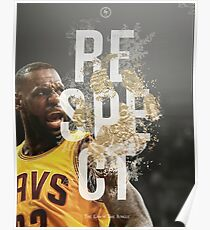 LeBron James  - RESPECT THE LAW OF THE JUNGLE Poster