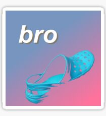 NAKED BRO Sticker