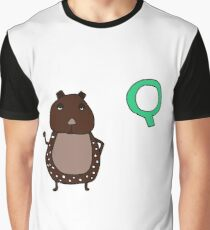 Q is for Quoll Graphic T-Shirt