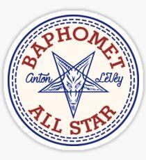 Baphomet AllStar Sticker