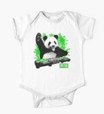 DJ Panda (vintage distressed look) Kids Clothes