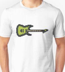 Pixel Green Burst Electric Guitar T-Shirt