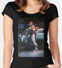 Robocop Women's Fitted Scoop T-Shirt
