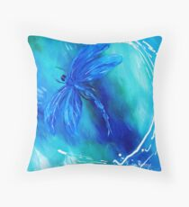 """Fly"" Throw Pillow"