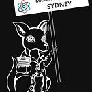 March for Science Sydney – Kangaroo, white by sciencemarchau
