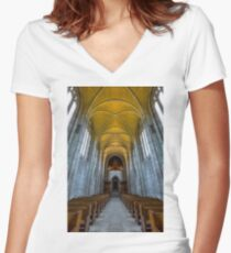 Trinity 3 Women's Fitted V-Neck T-Shirt
